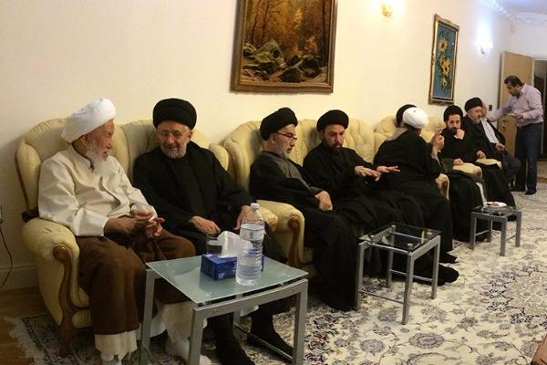 Gallery - Visiting Ayatollah Sheikh al-Fayyadh in London, UK - 2015